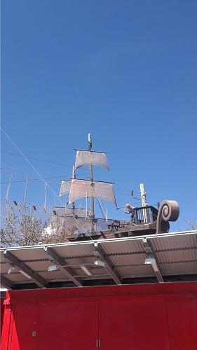 Un voilier ancien. Photo de GrandQuebec.com.