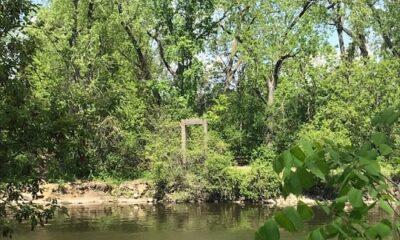 Ruines de l'île Perry. Photo de GrandQuebec.com.