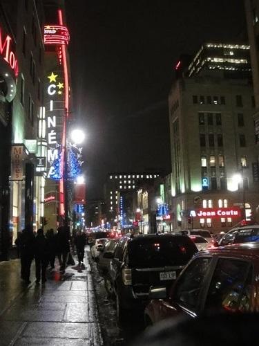 Ville pleine nuit