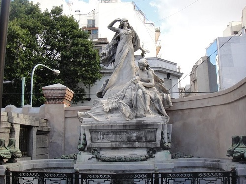 Monument à Boris Bruce