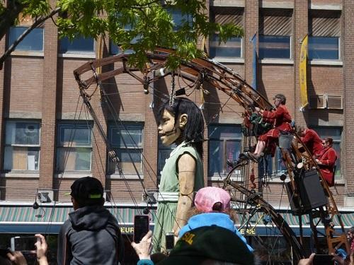 Parade des géants