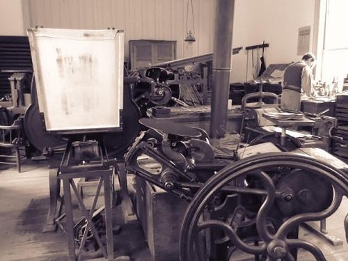 Presse au 19 siècle