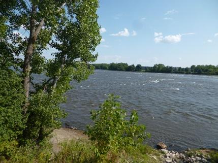 rapides de la rivière des Prairies