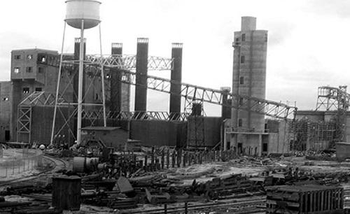 Fernandina Mills construction