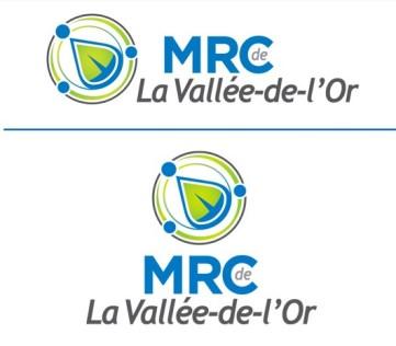 Logo de la MRC de Vallée-de-l'Or