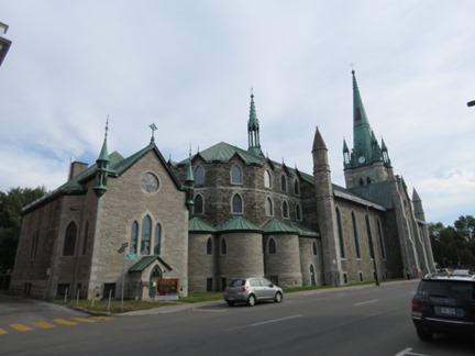 Cathédrale de l'Assomption, façade arrière