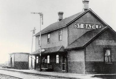 Gare de St-Basile