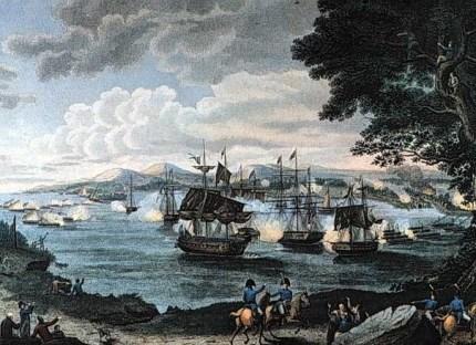 bataille navale lake champlain