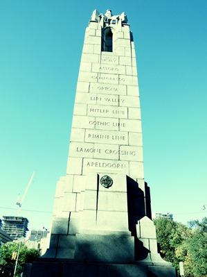 monument aux soldats tombés