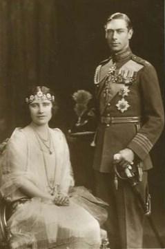 George VI et Élisabeth