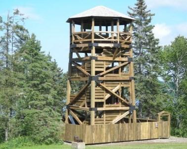 Tour d.observation des Hautes Appalaches