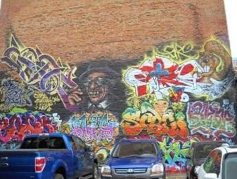 Hudson graffitti