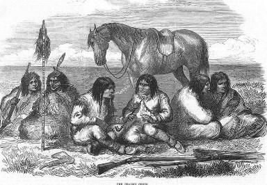 Amérindiens cris des prairies