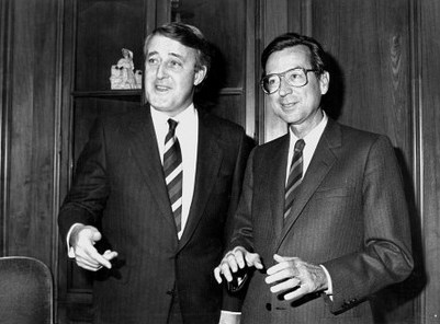 Bourassa et Mulroney