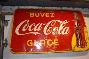 coca-cola enseigne