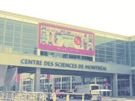 Centre des Sciences de Montréal, Game On