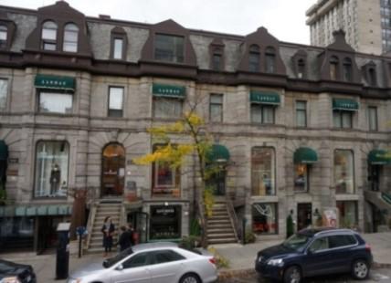 Galeries de la rue Sherbrooke