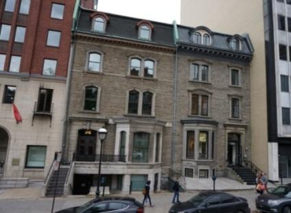 Maison au 1200 Sherbrooke Ouest