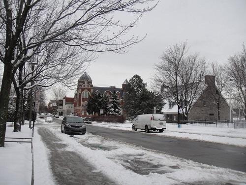 La Petite Bourgogne en hiver
