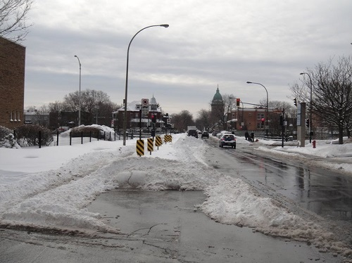 Neige au Québec