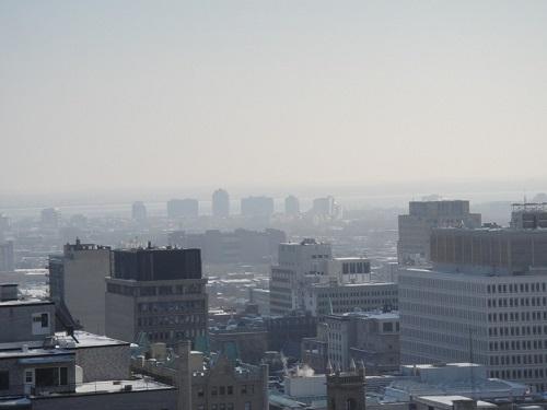 Vue panoramique de Montréal