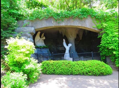 Jardin de la Croix Jésus Christ