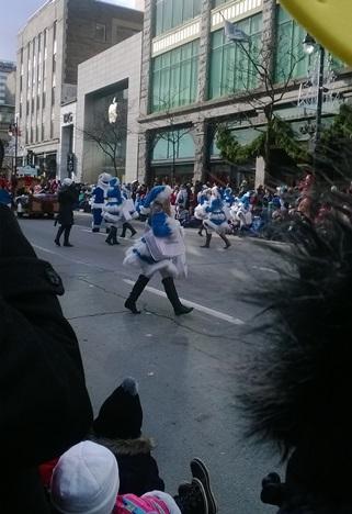danse et neige