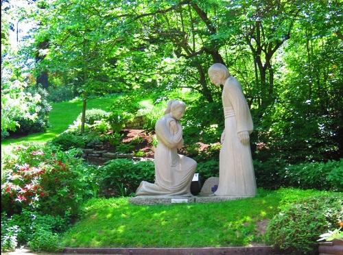 Jardin de l'oratoire de Saint-Joseph