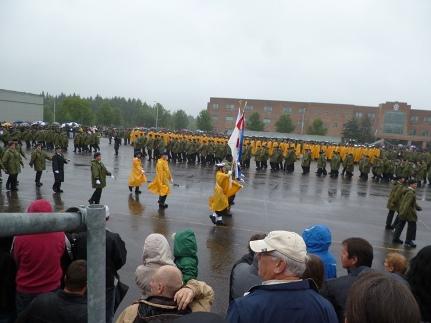 Cadets avancent