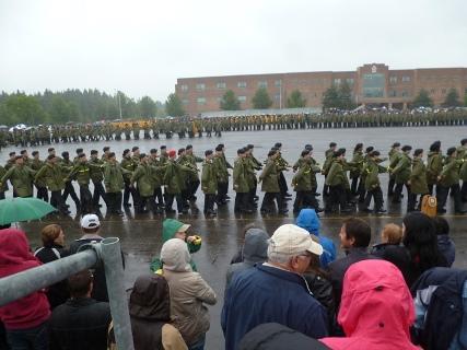 Cadets en marche