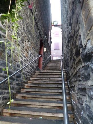 Escalier du quartier Petit-Champlain
