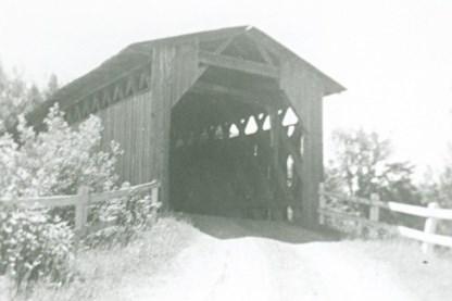 Pont couvert de Ste-Agathe