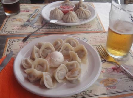 Pelemeni dumplings