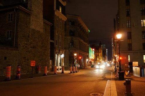 Montréal dort