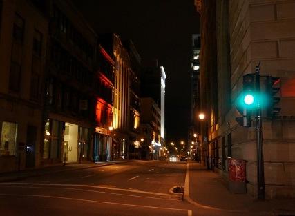 Nuit profonde, Montréal