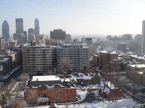 Montréal en janvier