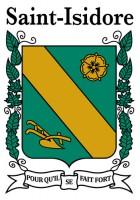 Armoiries de St-Isidore