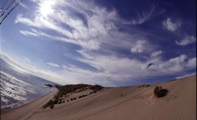 Dunes de sable à Tadoussac