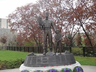 Monument soldats Corée