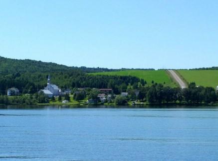St-Zénon-du-Lac-Humqui. Photo libre de droits.