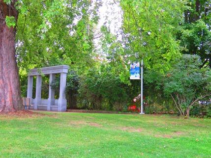 monument au parc
