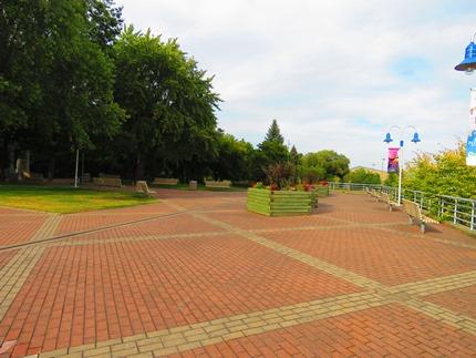 Les quais du parc portuaire