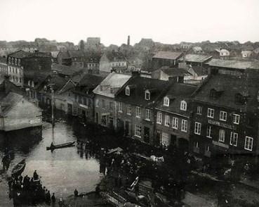 Rue Notre-Dame, l'inondation