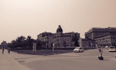 Vieux-Port de Montréal en octobre