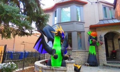 Dragon du Halloween
