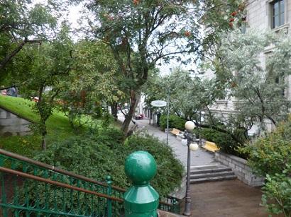 Escalier Frontenac Québec