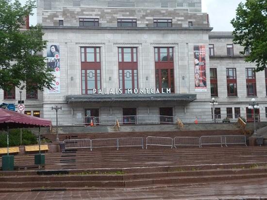 Palais Montcalm à Québec