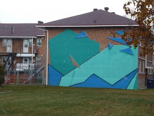 Graffitti à Laval