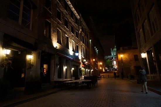 Rues typiques du Vieux-Montréal