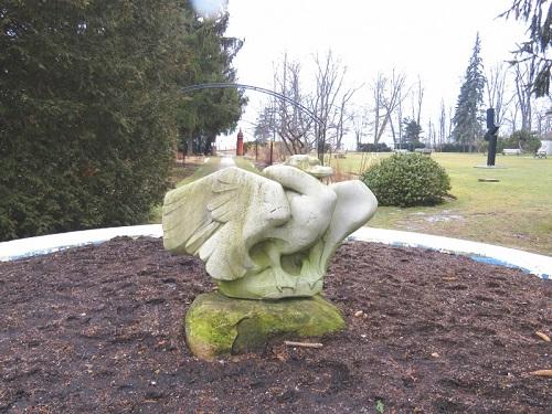 Sculpture du oiseau